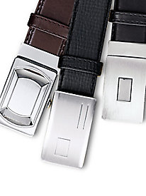 Fit-Forever� 3-Pc. Leather Belt Set