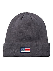 American Flag Knit Hat