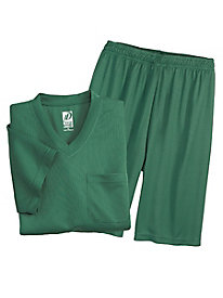 InstaDry Tee & Shorts Pajama Set