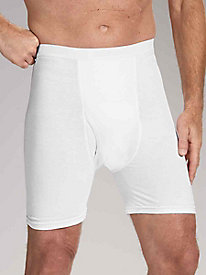 Cotton Incontinence Mid-Length Briefs