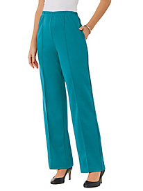 Fit-n-Flatter Knit Slacks