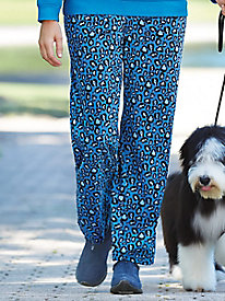 Print Party Fleece Pants