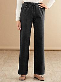 Modern-Fit Wide-Leg Jean with Spandex