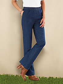 Modern-fit Boot-Cut Jeans