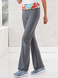 Fit & Flare Yoga Pants