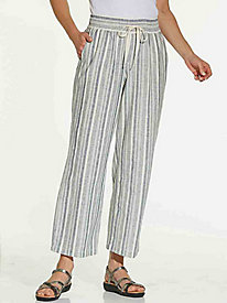 Striped Cotton Pants