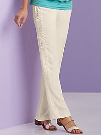 Salon Studio Tr�s Crochet Pants