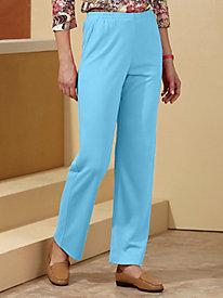 Sara Morgan™ Side-Elastic Knit Pants