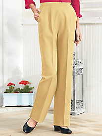 Salon Studio Side-Button Slacks