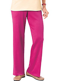 Sara Morgan� Crinkle Knit Slacks