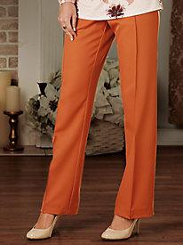 Golden Gabardine Pants