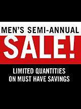 Men's Semi-Annual Sale