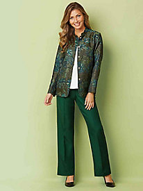 Tapestry Jacket & Alfred Dunner® Pants