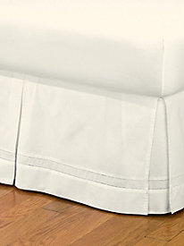 Tailored Hemstitch Bedskirt by linensource