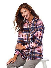 American Sweetheart® Flannel Blouse