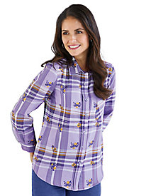 American Sweetheart� Flannel Blouse