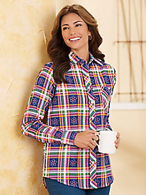 American Sweetheart® Flannel Shirt