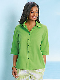 American Sweetheart� 3/4 Sleeve Wonder Blouse