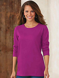 Essential Knit Crew Neck Tunic