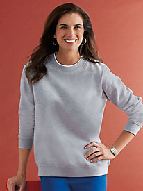 Comfort Corner Color-Riffic Fleece Sweatshirt
