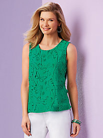 Papillion Song Sleeveless Top