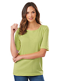 American Sweetheart� Tunic-Length Polo