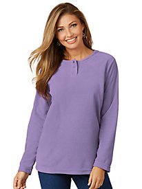 Feather-Fleece Top