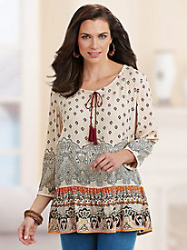 BocaBay™ Eastern Dreams Blouse