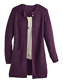 Comfort Corner� Ladies' Fleece 'n Flannel Top