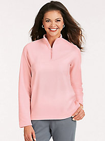 Feather Fleece & #153 Quarter-Zip Top 81029