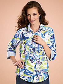 Adrian Delafield� Birds of Paradise Blouse
