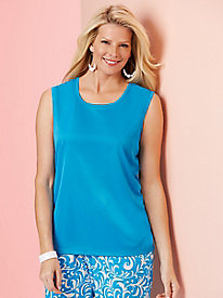 Silky Sensations Knit Sleeveless Top