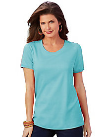 Salon Studio Scoop Neck Top