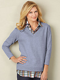 Look of Layers Fleece Top