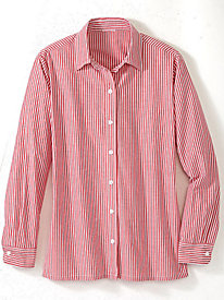 Yarn-Dyed Striped Shirt