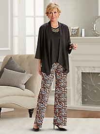 Salon Studio Hide & Chic 3-Pc. Pant Set