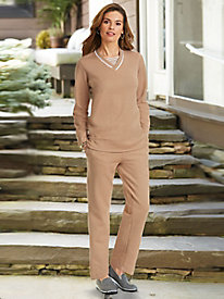 American Sweetheart� 2-Pc. Fleece Pant Set