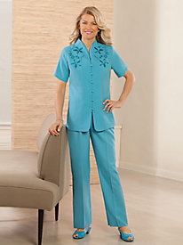 Buquet De Beaut� 2-PC. Pant Set
