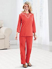 Sara Morgan� 2-Pc. Knit Set