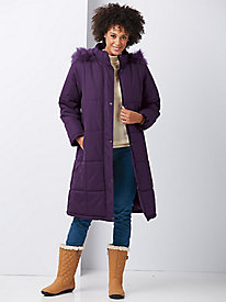 Totes® Box-Quilted Coat