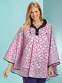 Print-Happy Rain Cape