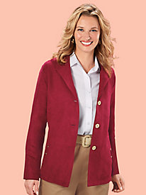 Tudor Court� Soft-As-Suede Jacket