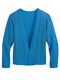3/4-Sleeve Shrug Cardigan