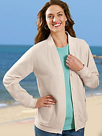 Comfort Corner� French Terry Jacket
