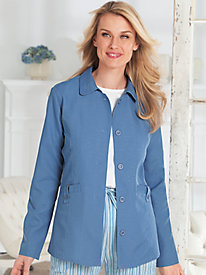 Tudor Court� Linen-Look Casual Jacket