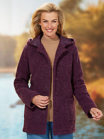 Tudor Court™ Hooded Berber Fleece Jacket