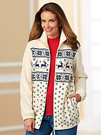 Tudor Court� Picture Perfect-Fleece Jacket