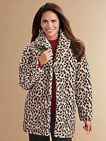 Tudor Court™ Faux Fur Coat