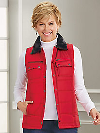 6-Pocket Quilted Vest
