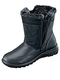 Double Zip Winter Boot